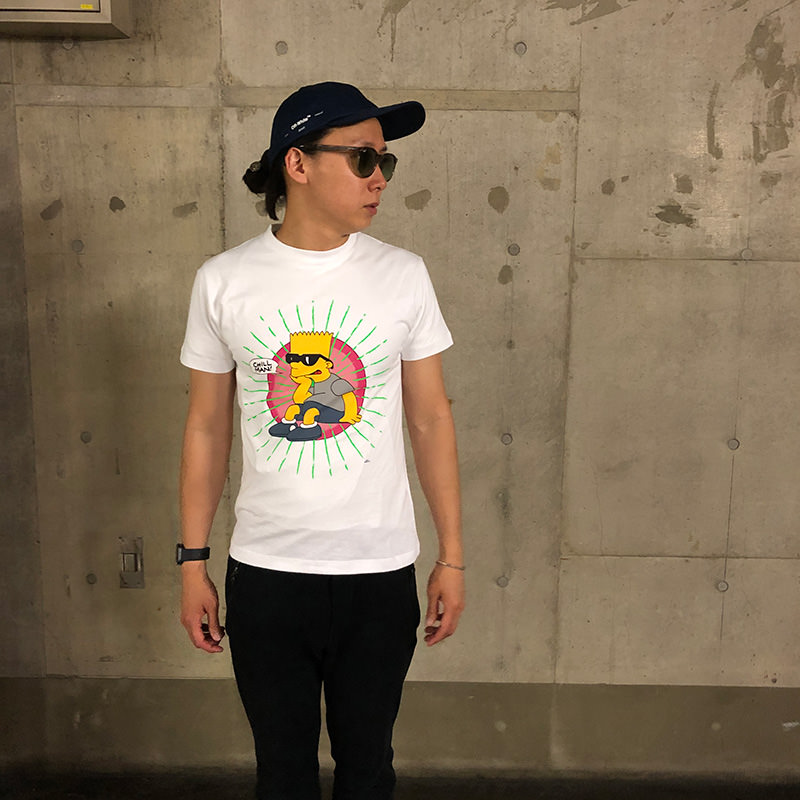 OFF-WHITE(オフホワイト) Off-White Bart Simpson Tシャツ ホワイト 1 在庫商品画像