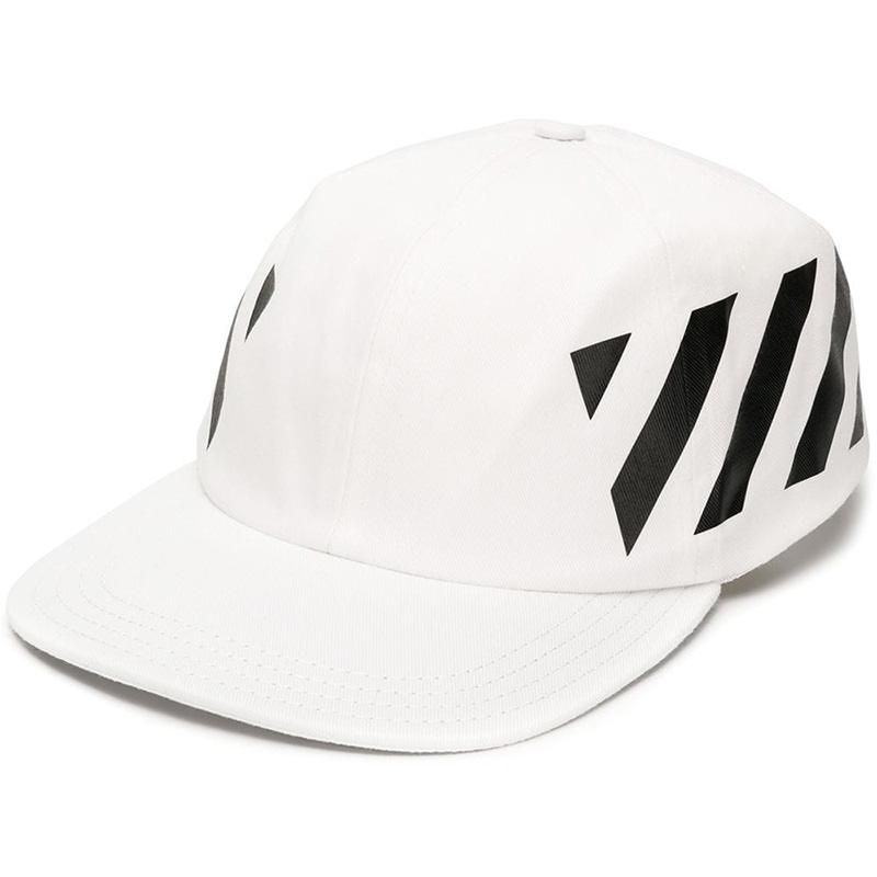 OFF-WHITE(オフホワイト) OFF WHITE DIAG BASEBALL CAP画像