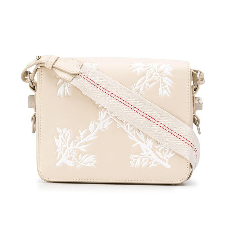 OFF-WHITE(オフホワイト) Off-White Hanna Leaves flap bag画像