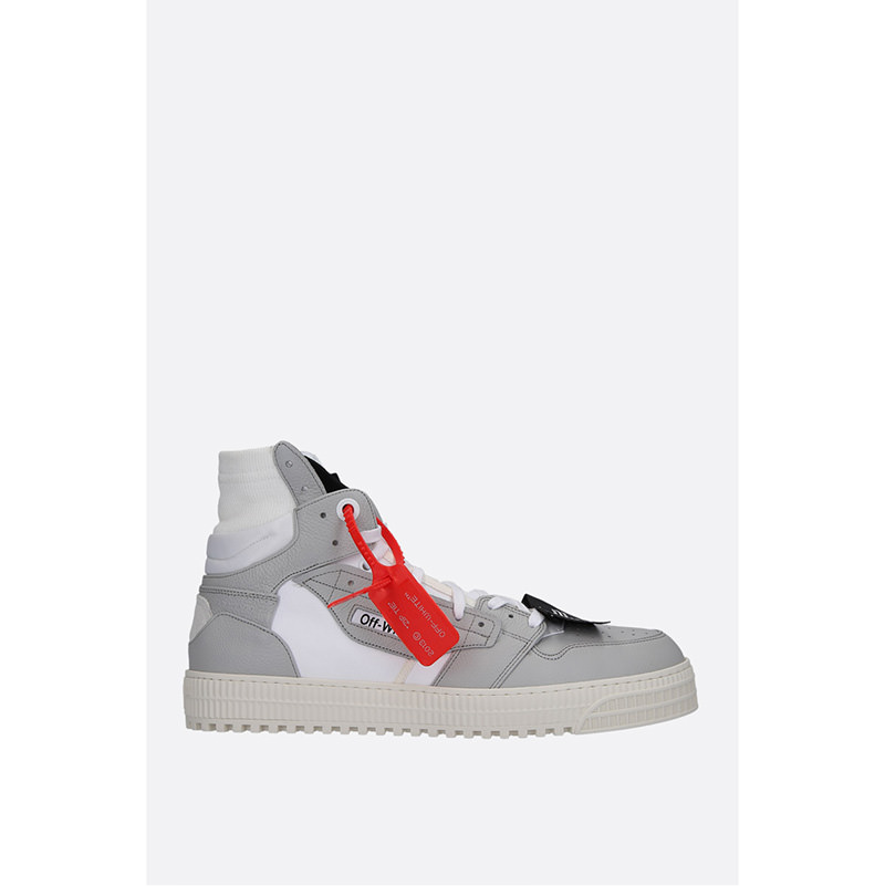 OFF-WHITE(オフホワイト) OFF COURT 3.0 SNEAKERS IN LEATHER AND CANVAS画像