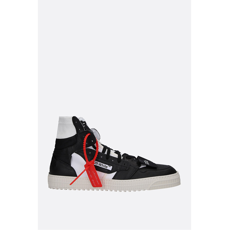 OFF-WHITE(オフホワイト) OFF COURT 3.0 LEATHER AND CANVAS SNEAKERS画像