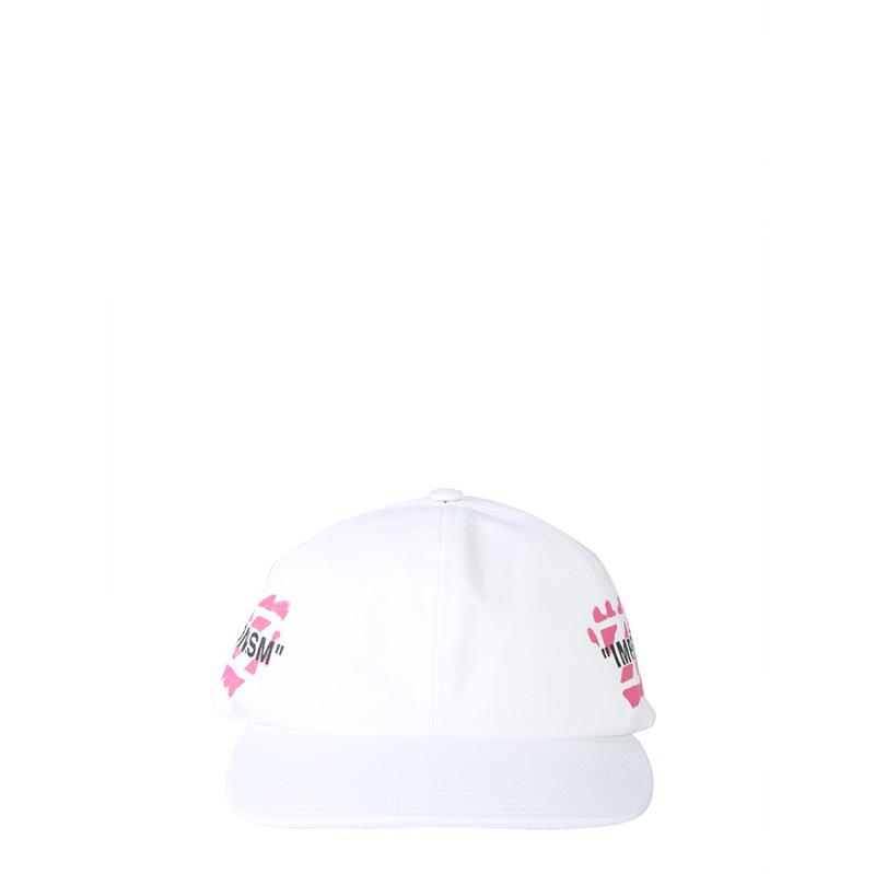OFF-WHITE(オフホワイト) COTTON BASEBALL CAP画像