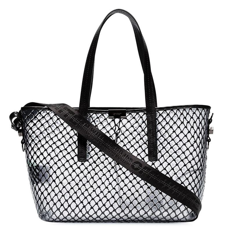 OFF-WHITE(オフホワイト) Off-White netted shopper bag画像