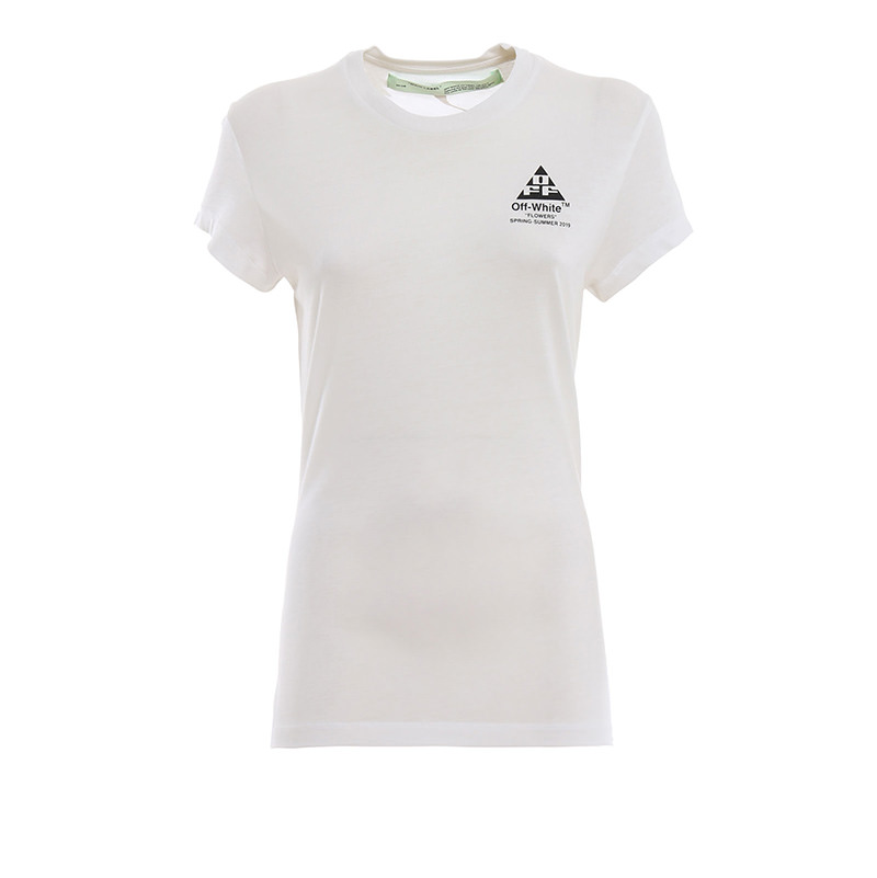 OFF-WHITE(オフホワイト) OFF WHITE COTTON CARRYOVER FITTED T-SHIRT画像