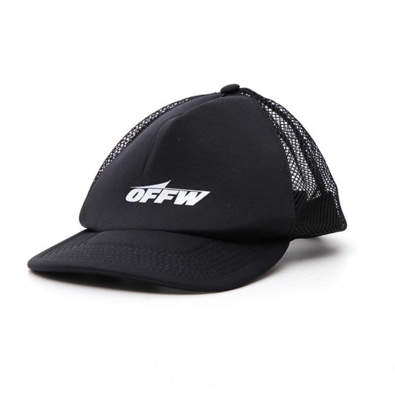 OFF-WHITE(オフホワイト) OFF-WHITE black polyester hat画像