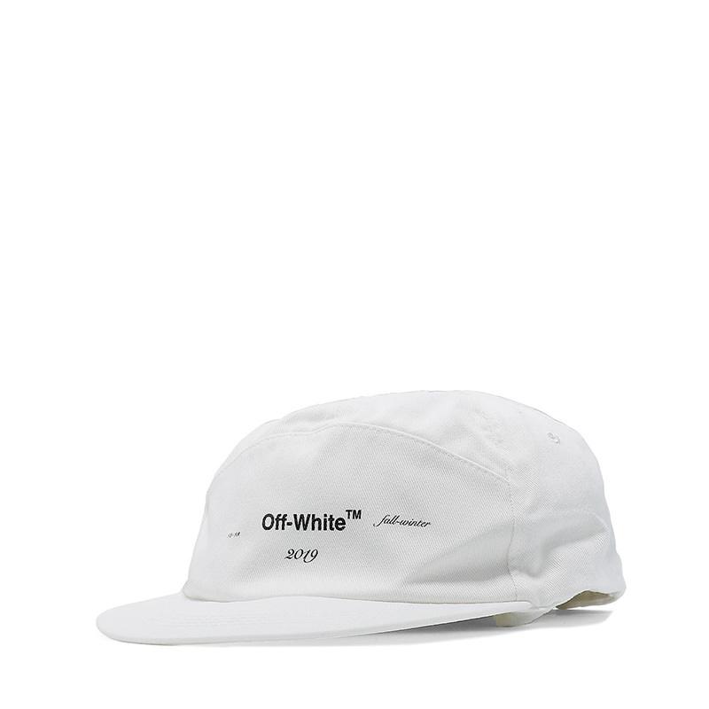OFF-WHITE(オフホワイト) White cotton hat画像