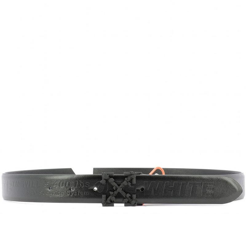 OFF-WHITE(オフホワイト) OFF-WHITE black leather belt画像