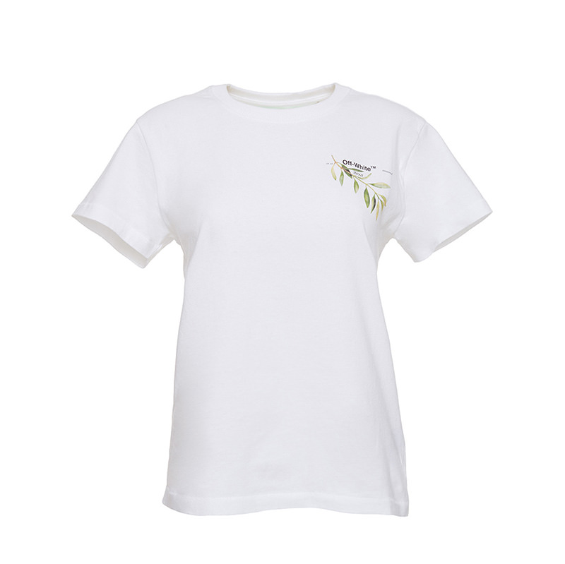 OFF-WHITE(オフホワイト) Leaves and Arrows T-shirtOff-White x Gente Roma画像
