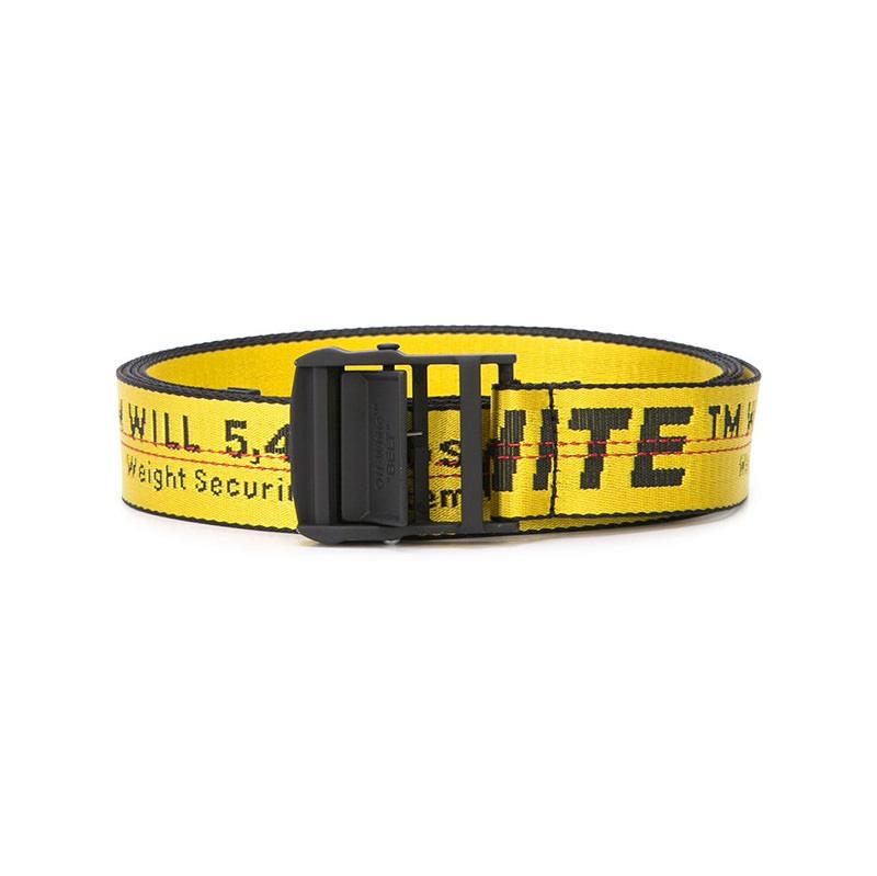 OFF-WHITE(オフホワイト) Yellow Industrial Off-White belt画像