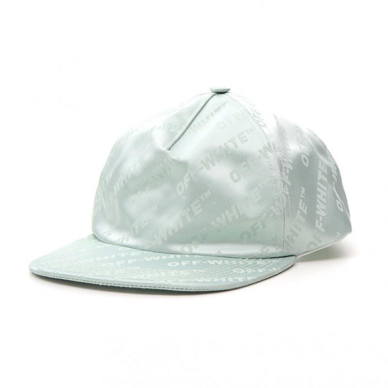 OFF-WHITE(オフホワイト) OFF-WHITE green cotton hat画像