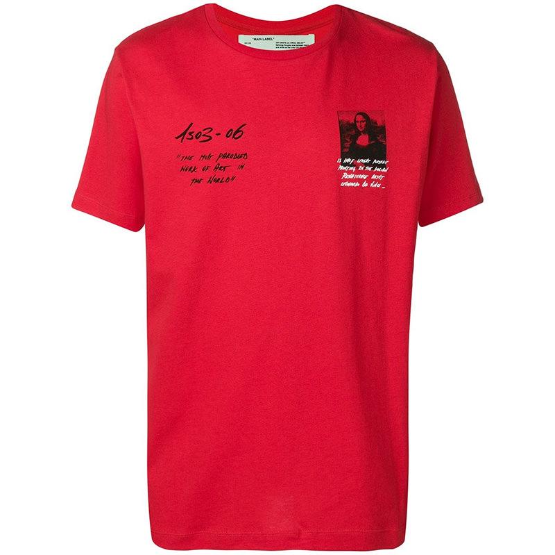 OFF-WHITE(オフホワイト) Off-White Monalisa T-shirt画像