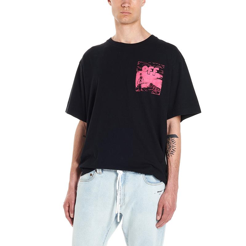 OFF-WHITE(オフホワイト) T-shirt Skull floating画像