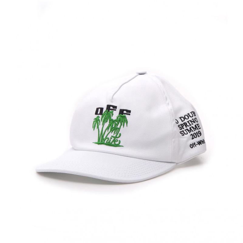 OFF-WHITE(オフホワイト) OFF-WHITE white cotton hat画像