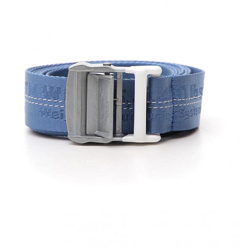 OFF-WHITE(オフホワイト) OFF-WHITE light blue fabric belt画像