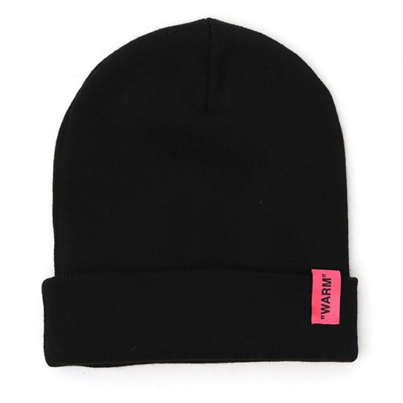 OFF-WHITE(オフホワイト) OFF-WHITE black wool hat画像