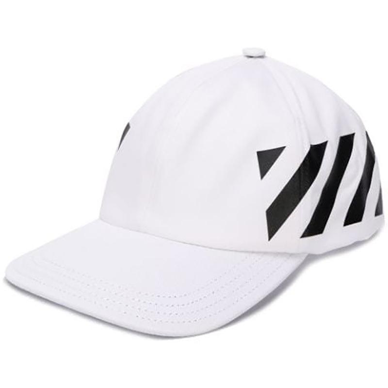 OFF-WHITE(オフホワイト) Off-White white Diag cap画像