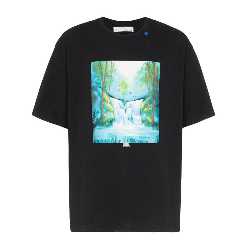 OFF-WHITE(オフホワイト) Off-White Waterfall oversized T-shirt画像