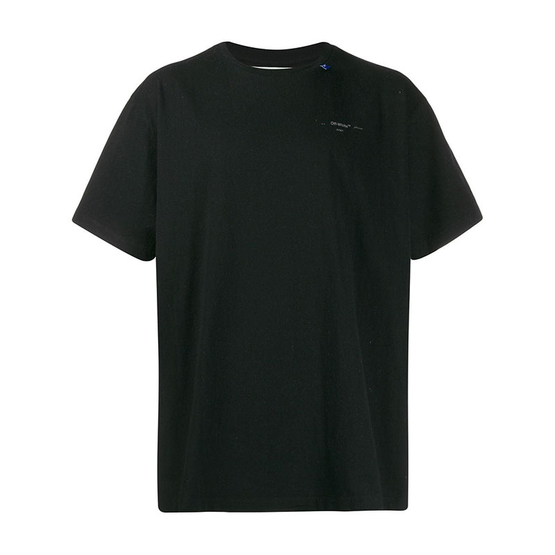 OFF-WHITE(オフホワイト) Off-White Unfinished oversized T-shirt画像