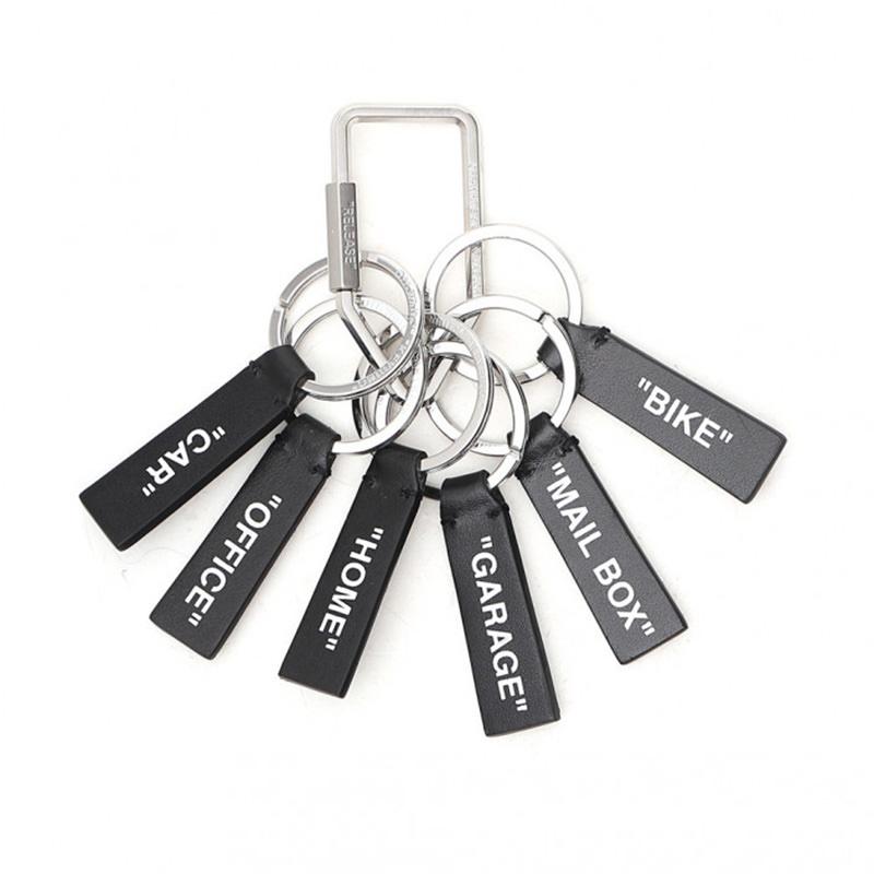 OFF-WHITE(オフホワイト) OFF-WHITE black metal key chain画像
